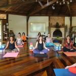 Parte interna - Sala de Prática Ganesha