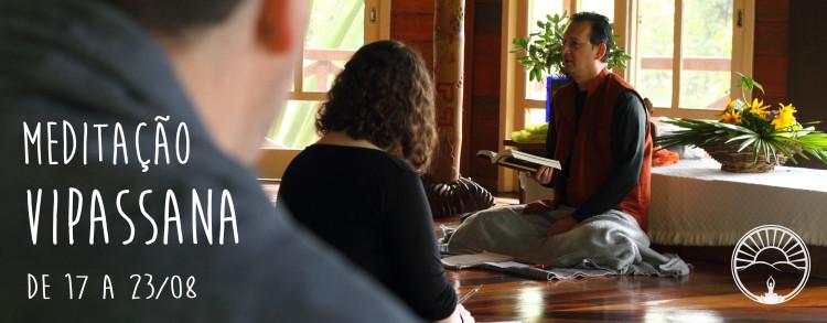 17 a 23 Agosto 2017 – Retiro de Meditação Vipassana