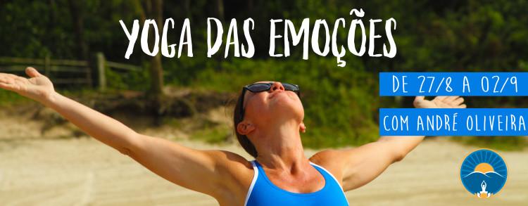 27 Agosto a 02 Setembro 2017 – Yoga das Emoções