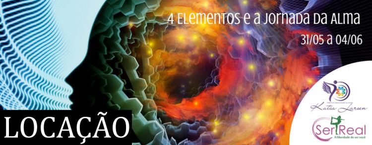 31 maio a 04 junho 2017 – Os 4 Elementos e a Jornada da Alma (LOCAÇÃO)