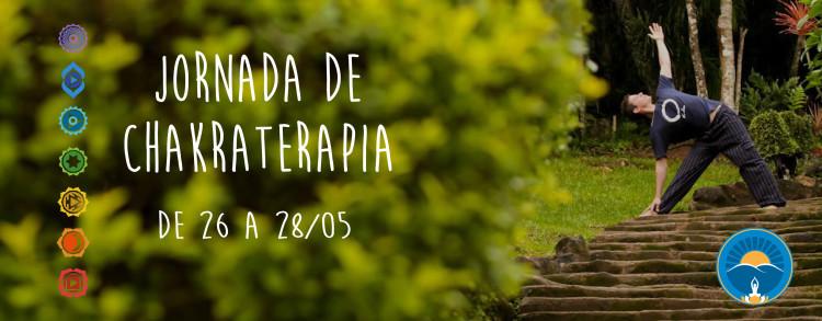 26 a 28 Maio 2017 – Jornada de Chakraterapia