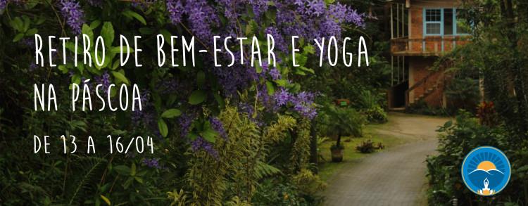 13 a 16 abril 2017 – Retiro de Bem-Estar e Yoga na Páscoa