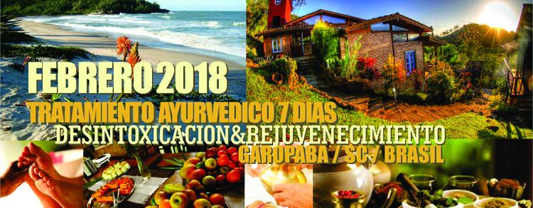 22 fevereiro a 01 março 2018 – Rasayana em Espanhol (LOCAÇÃO)