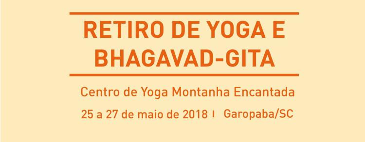 25 a 27 maio 2018 – Retiro de Yoga e Bhagavad Gita (LOCAÇÃO)
