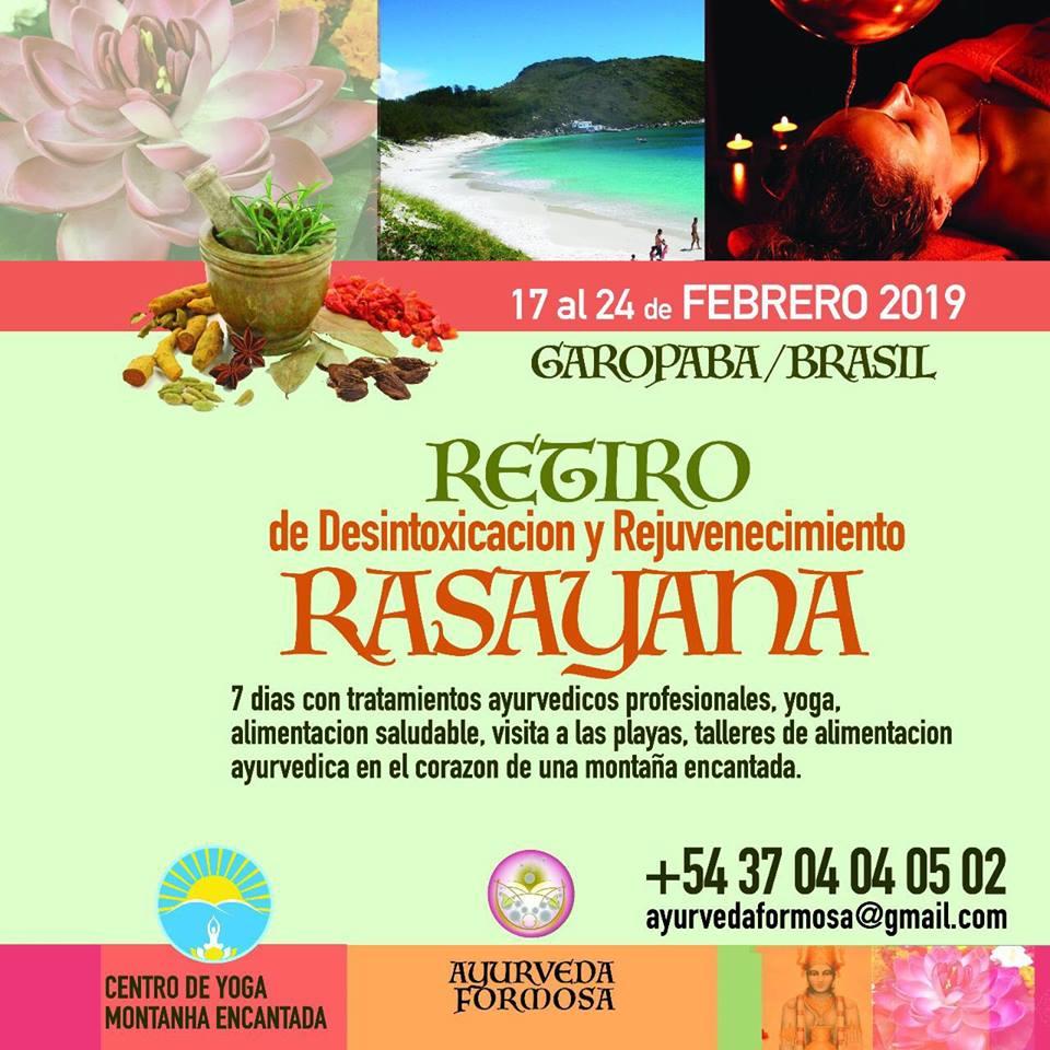 Rasayana em Espanhol - 17 a 24 de fevereiro de 2019